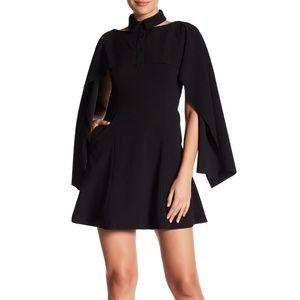 Gracia Popover Cape Dress L